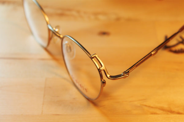 vtg-173 Liberty matte gold spectacles